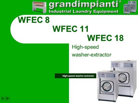High-speed washer-extractor