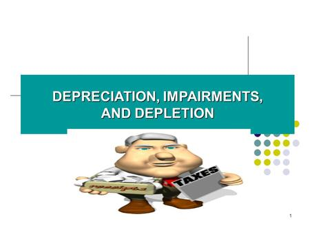 Tax Depreciation Vs. Book Depreciation & an Intangible Asset Valuation