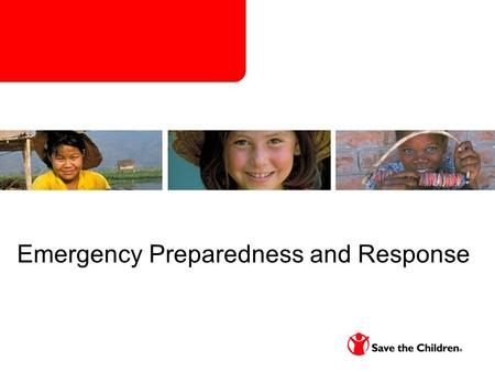 Emergency Preparedness and Response. Group Discussion Have you participated in your Country Offices Emergency preparedness Planning Process? What are.