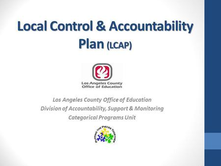 Local Control & Accountability Plan (LCAP)