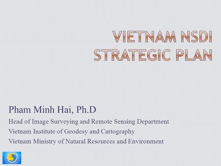 Vietnam NSDI Strategic Plan