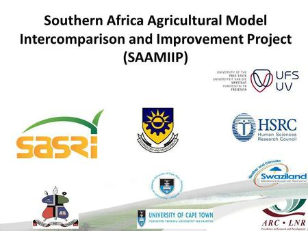 Southern Africa Agricultural Model Intercomparison and Improvement Project (SAAMIIP)