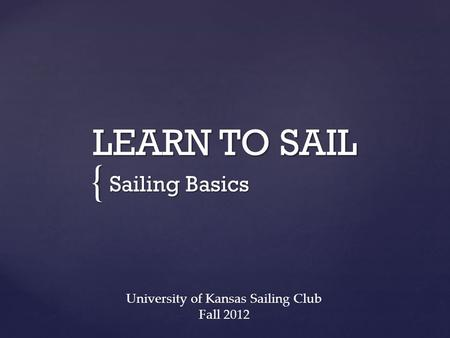 University of Kansas Sailing Club