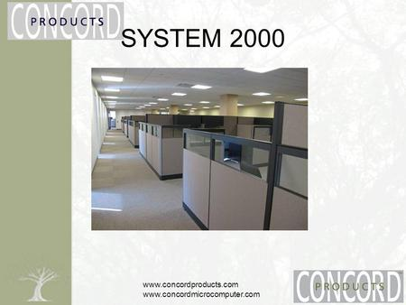 Www.concordproducts.com www.concordmicrocomputer.com SYSTEM 2000.