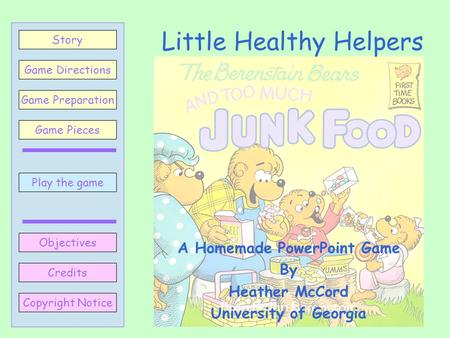 Little Healthy Helpers