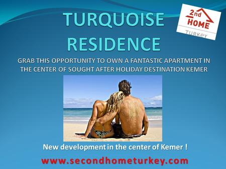 New development in the center of Kemer ! www.secondhometurkey.com.