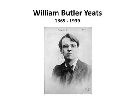 a biography of william butler yeats