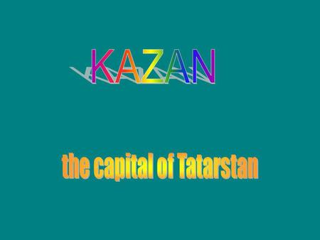 the capital of Tatarstan