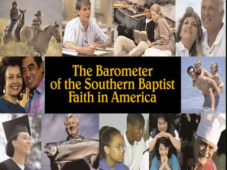 1 2 The Unchurched and Southern Baptists in America Unchurched are Younger, More Male and Ethnically Diverse, Less Married Source: Barna Research Group,