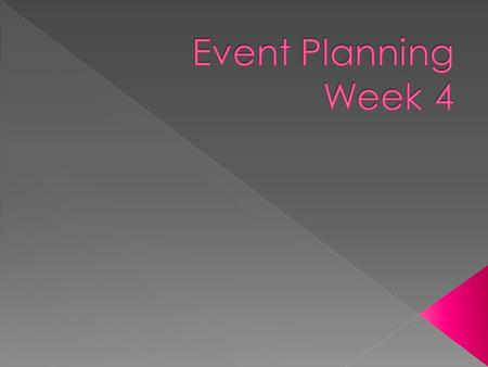 Guest Speaker – Megan Gilligan Report out on Financial Goals for event Organizational and Planning Considerations Next Week.