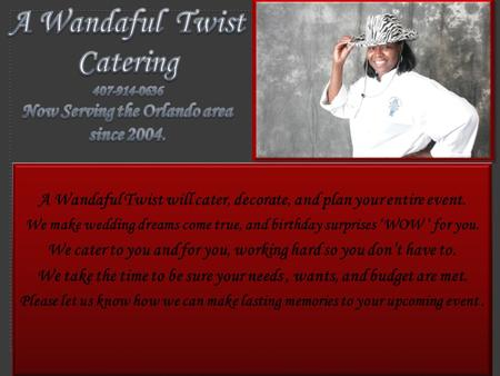 A Wandaful Twist Catering