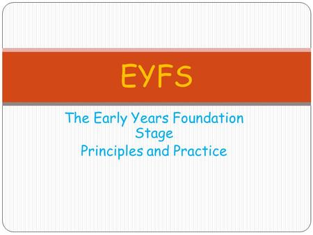 critical thinking in the early years foundation stage The foundation stage curriculum complies with the early years foundation stage framework creative and critical thinking- thinking area of learning and development.