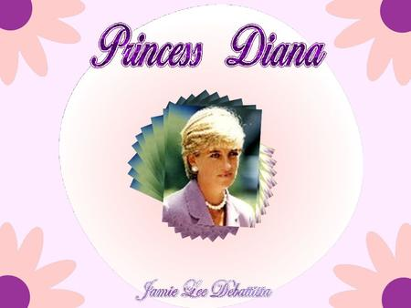 Lady Diana was born Diana Frances Spencer on July 1, 1961, in a rented house on the royal estate at Sandringham, Norfolk. She was educated at Riddlesworth.