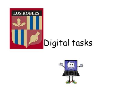 Digital tasks Access ETOOLS4ENGLISH