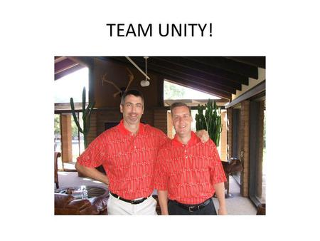 TEAM UNITY! Is this where Puddles was playing with the dogs last night?