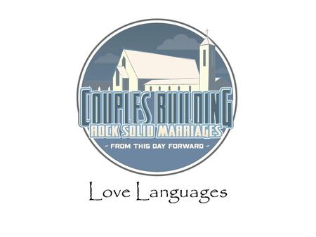 Love Languages Welcome Wheres Mike? Who am I? Who are we?