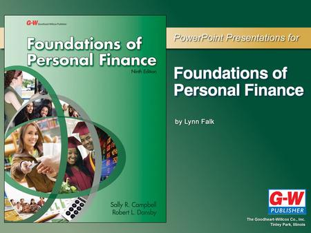 Chapter 1 Personal Finance: An Overview PERSONAL FINANCE BASICS Section 1.1.