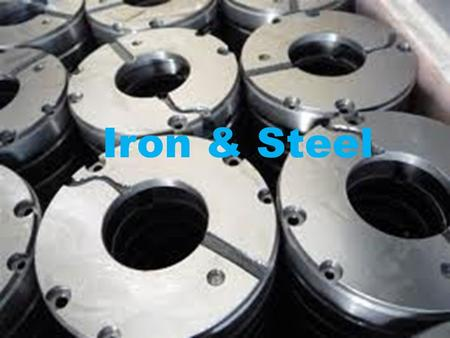 Iron & Steel. Trends & Developments in Steel Sector – Indian Scenario 5th largest producer of crude steel in the world and is expected to become the 2nd.