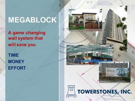 MEGABLOCK A game changing wall system that will save you TIME MONEY EFFORT.