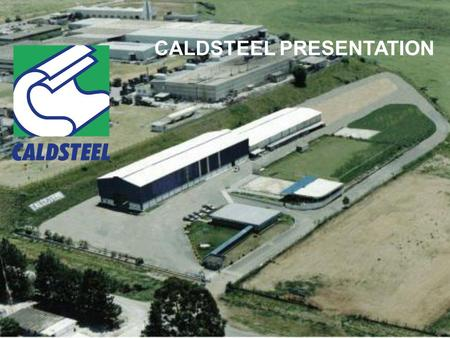 CALDSTEEL PRESENTATION. METALWORK INDUSTRIAL PROJECTS ASSEMBLY INDUSTRIAL.