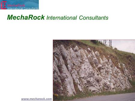 Www.mecharock.com MechaRock International Consultants.