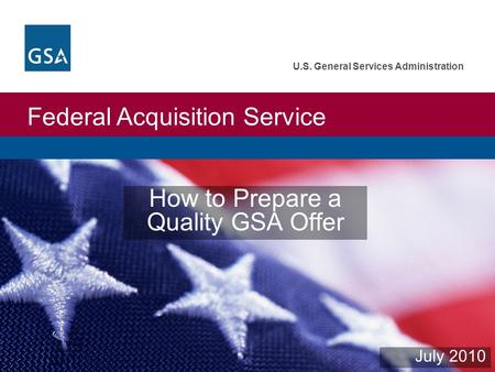 how to get a gsa contract