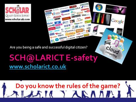 Are you being a safe and successful digital citizen? E-safety