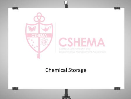 Chemical Storage. Objectives Separating incompatible materials Special hazards Flammable storage cabinets Corrosives cabinets Special versus general.