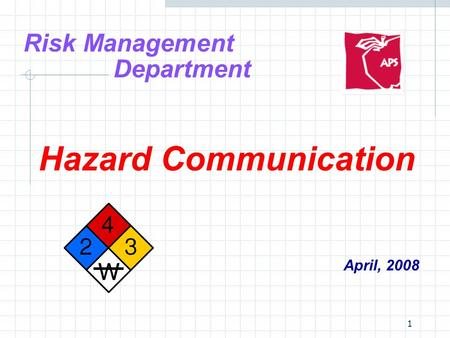 Risk Management Department