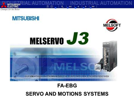 SERVO AND MOTIONS SYSTEMS