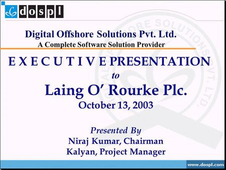 Delivering value through Services. INFOBHAN Systems ...