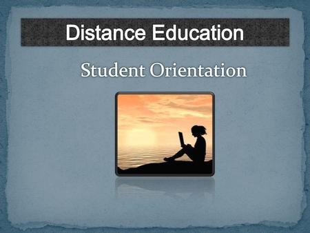 Distance Education Modes of Delivery Applications, Resources and Support.