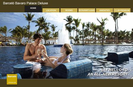 Barceló Bavaro Palace Deluxe SAY HELLO TO AN ALL-NEW RESORT SAY HELLO TO AN ALL-NEW RESORT.