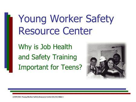 Home resource center teen job