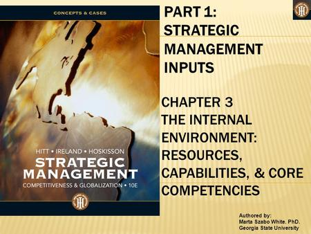 STRATEGIC MANAGEMENT INPUTS