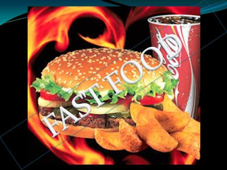 In Portuguese fast food refers to meals quickly and can be made ingested in a few minutes. In modern societies, in which the time spent in meals.