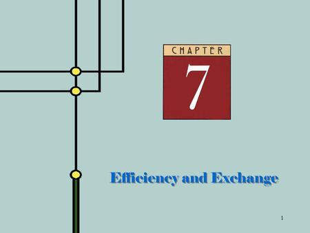 Efficiency and Exchange