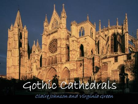An Overview Gothic architecture began as a spinoff of Norman design in the 1200s, but rapidly grew and developed a separate identity over the next few.