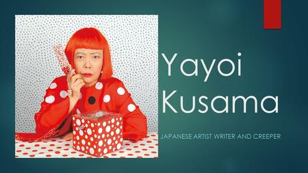 Yayoi Kusama JAPANESE ARTIST WRITER AND CREEPER. Kusama Family 1930s.