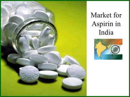 Market for Aspirin in India. Consumer Surplus Consumer surplus is the maximum amount a buyer is willing to pay (WTP) for a good minus the amount he or.