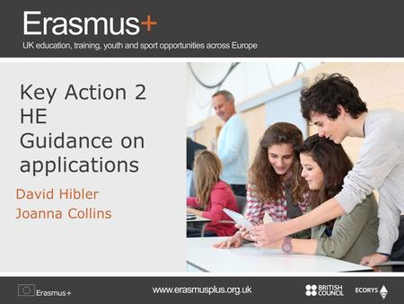 Key Action 2 HE Guidance on applications