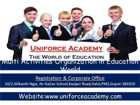 Multi Activities Organization in Education World