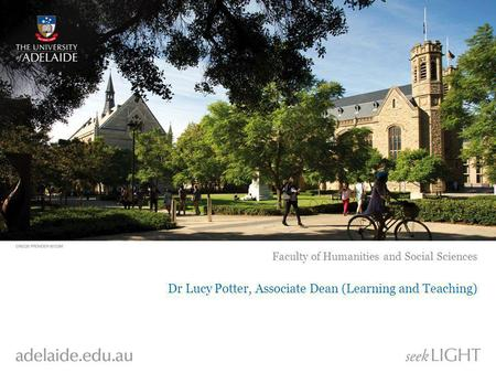 Dr Lucy Potter, Associate Dean (Learning and Teaching)