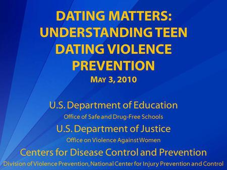 New jersey department of education dating violence
