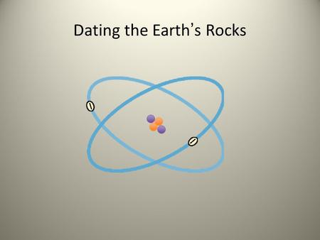 Dating the Earth's Rocks