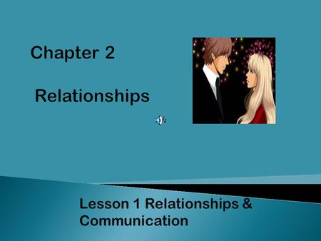 Chapter 2 Relationships