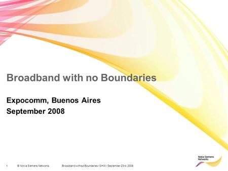 Broadband with no Boundaries