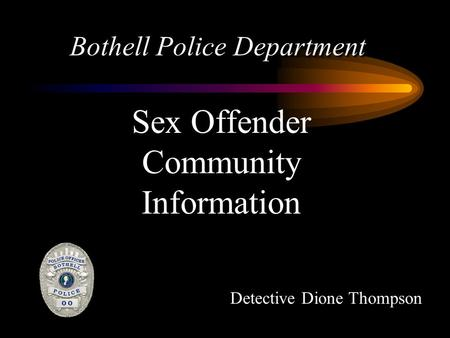 Bothell Police Department