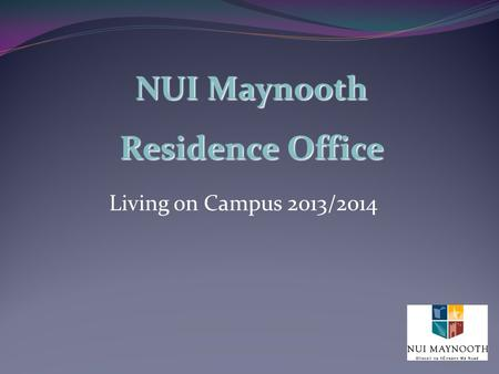 NUI Maynooth Residence Office