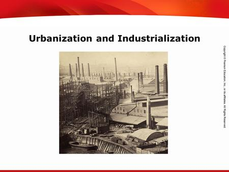 Urbanization and Industrialization